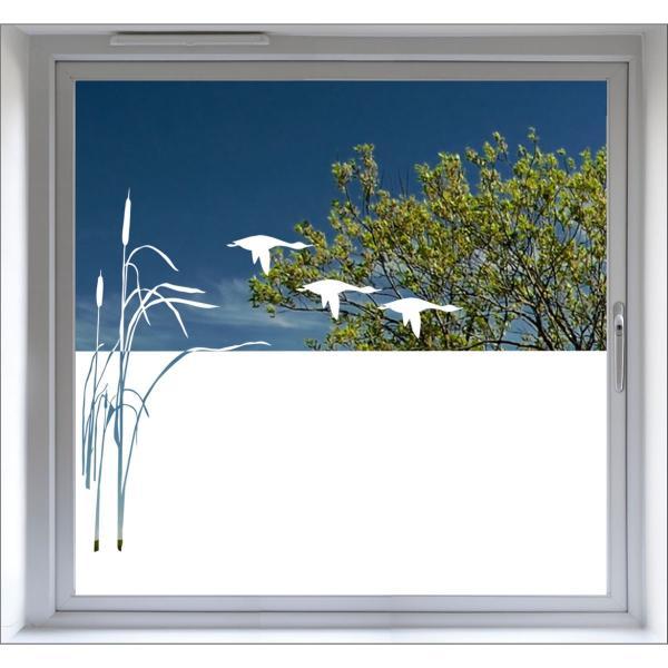 Fensterfolie Sichtschutz Milchglasfolie